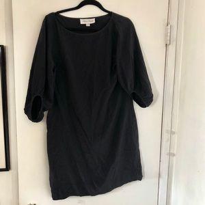 Fifteen Twenty • Black Mock Dress w/ puffed Sleeve